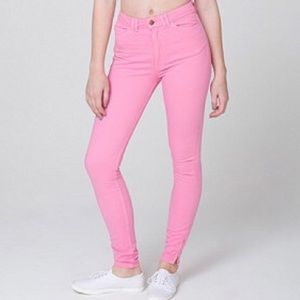 American Apparel High Waisted Jeans